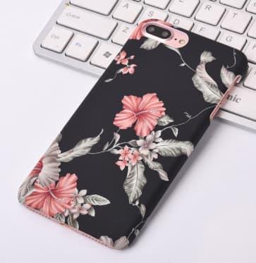 iPhone 6 Plus Case, Retro Floral Pattern Protective Case
