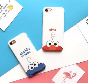 iPhone 6/6S Case, Cartoon Soft TPU Scratch Resistant Case