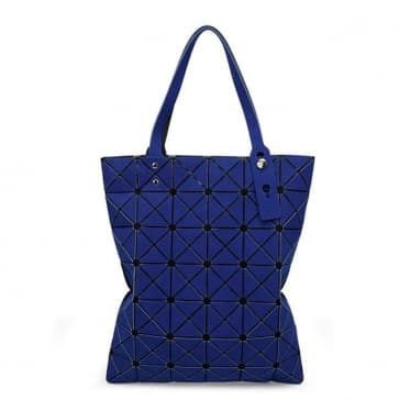 Fashion Diamond Shape Tote Bag ~ Matt Color