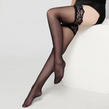 Sexy Lace Top Knee Socks Stockings