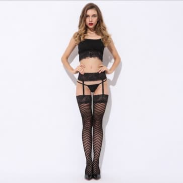 Arrows Shape Lace Sexy Eyes Fishnet Tights Sling Socks Stockings Mesh Lingerie