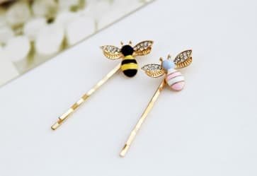Honeybee Hair Clip Sets