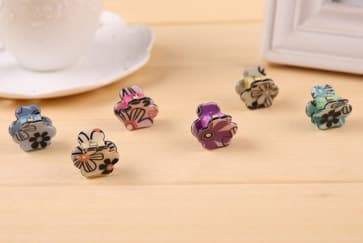 Floral Mini Hair Claw Clip