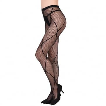 Sexy Diamond Shape Fishnet Tights Nylon Stockings Mesh