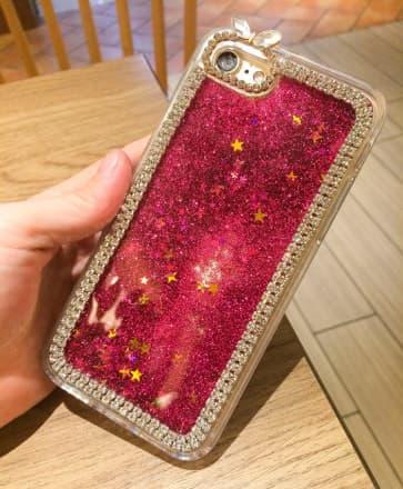 iPhone 7 Case, Liquid Floating Luxury Bling Glitter Sparkle with Rhinestone