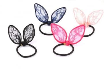 Butterfly Lace Elastic Hair Band Scrunchie