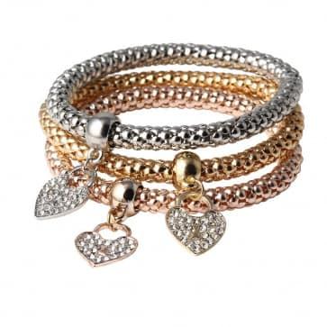 Sparkling Rhinestone Bracelets (Three Colors)