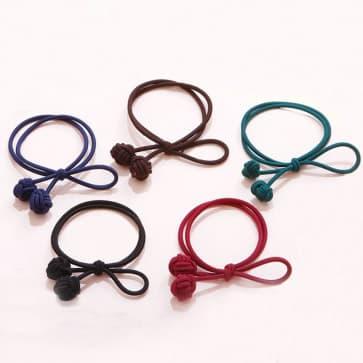 Girls Elastic Hair Band Scrunchie ~ 5 Colors