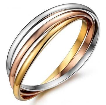 Titanium Stainless Steel Bracelet Jewelry ~ Three Colors