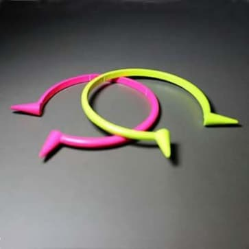 Neon Green & PInk Fashion Bracelet