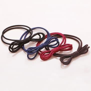 Girls Bow Shape Elastic hair Band Scrunchie ~ 4 Colors