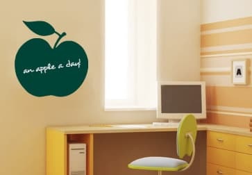 Greenboard Decor Vinyl Dry Erase Self Adhesive Wall Sticker