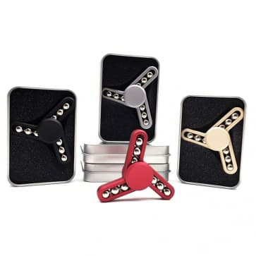 Isacc Steel Bearing Stress Spinner Fidget Finger