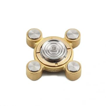 Jedi Stainless Steel Two Playing Ways Hand Fidget Spinner