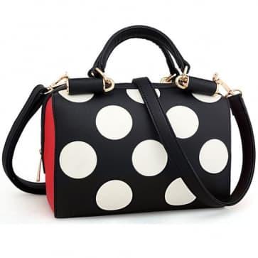 Dots Printed Mini Bag