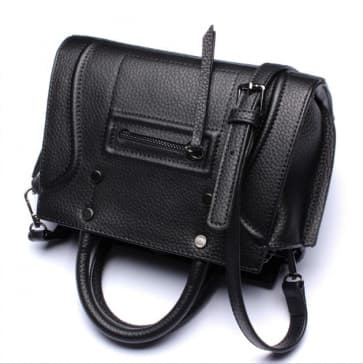 Classic Shoulder Daily Bag ~ Black