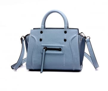 Classic Shoulder Daily Bag ~ Blue