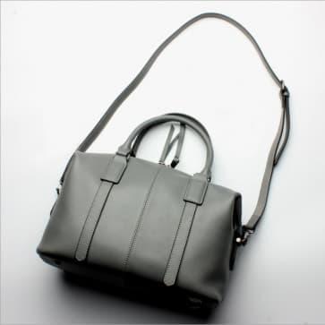 Classic Shoulder Bag ~ Grey