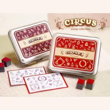 DIY Circus Rubber Stamp