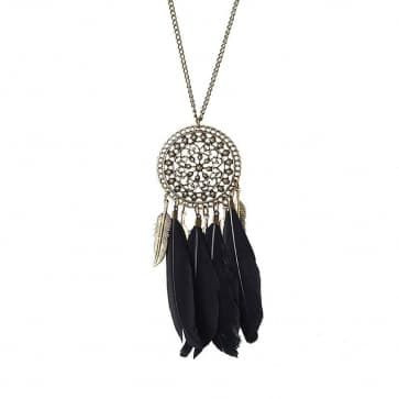 Ethnic Style Feather Necklaces