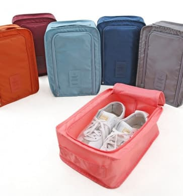 Waterproof Nylon Travel Shoes Pouch