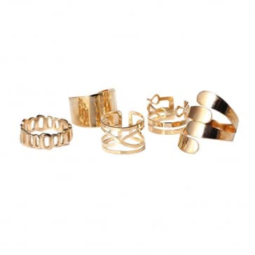 Fashion Gold Ring Sets
