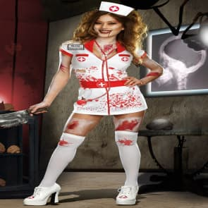 Zombie Cosplay Costume Dress For Adults Halloween Costume