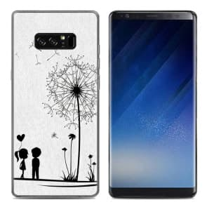 Dandelion Tpu Phone Case for Galaxy Note 8