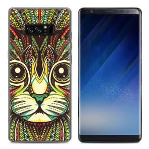 Smart Cat Tpu Phone Case for Galaxy Note 8
