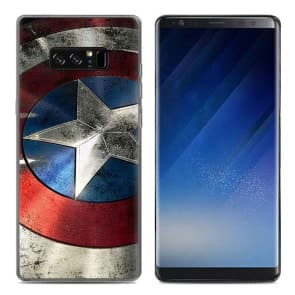 Captain A Tpu Phone Case for Galaxy Note 8