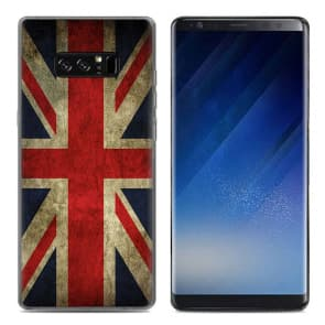 England Style Tpu Phone Case for Galaxy Note 8