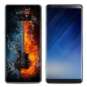 Frost Guitar Tpu Phone Case for Galaxy Note 8
