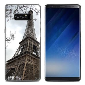Eiffel Tower Tpu Phone Case for Galaxy Note 8