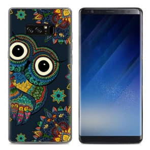 Cute Owl Tpu Phone Case for Galaxy Note 8