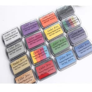 Colors Art Little Rubber Stamp Oil Based Ink Pad
