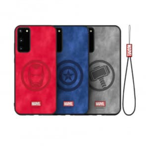Samsung S20 Marvel Phone Case With Strap