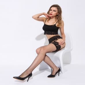 Diamond Shape Lace Sexy Eyes Fishnet Tights Sling Socks Stockings Mesh Lingerie