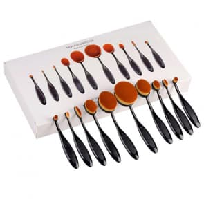 Toothbrush Modeling 10pcs Makeup Brush