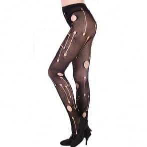 Sexy Rotten Fishnet Tights Nylon Stockings Mesh