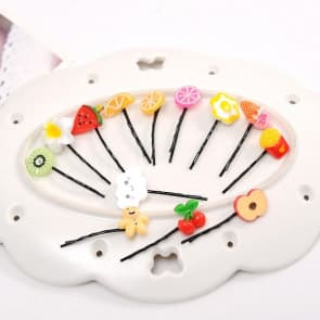 Mini Fruits Hair Clip
