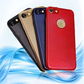 iPhone 7 8 Case, Twill Pattern TPU Protective Phone Case