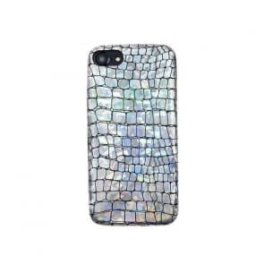 iPhone 7 8 Symphony Crocodile Pattern Protective Case