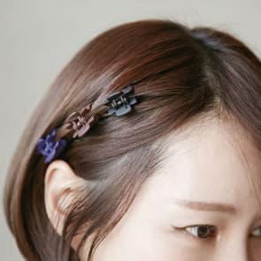 5 Pcs/Set Candy Colors 2.3cm Mini Hair Claw Clip ~ Five Colors