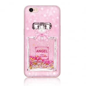 iPhone 7 8 Plus Angel Perfume Silicone Liquid Quicksand Protective Case