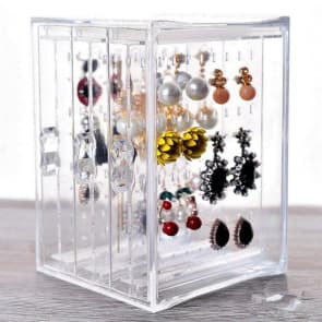 Jewelry Earring Accessories Performance Rack Case Box