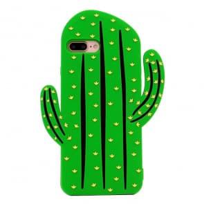 Galaxy S7 Edge Case, Cute 3D Vivid Cactus Prickly Pear Plant