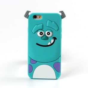 Galaxy S7 Edge Case, Cute 3D Cartoon Monsters