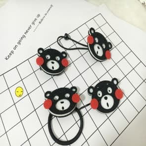 Kumamon Elastic Hair Band Scrunchie & Clips