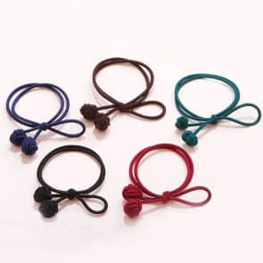 Girls Elastic Hair Band Scrunchie ~ 5 Colors