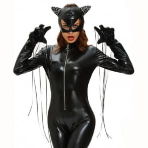 Halloween Masquerade Ball Miraculous Ladybug Cat Noir Black Cat Costume